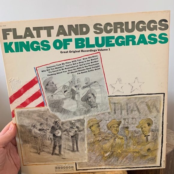 VINTAGE / Record / 1960s / Bluegrass